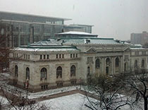 Epilepsy convention on a snowy day