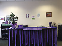 Our Staten Island office went purple for Epilepsy Awareness