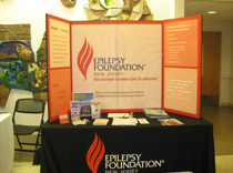 Epilepsy Foundation of New Jersey Booth