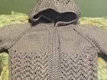 Sweater to be raffled off to help team NEREG on April 11