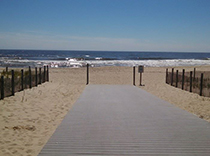 Beautiful Jersey shore for our epilepsy walk