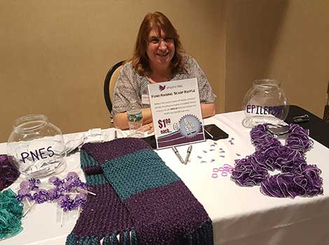 Conference raffle for Epilepsy Free