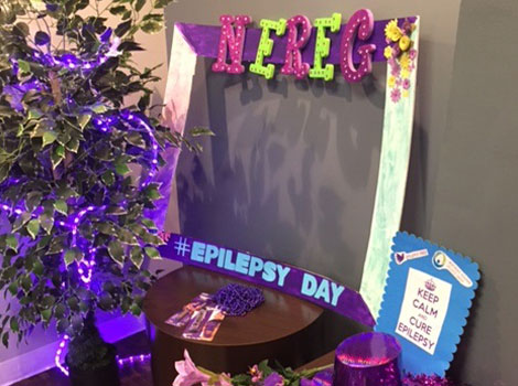International epilepsy day in our Morristown offices