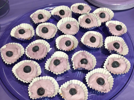 Purple cupcakes to raise epilepsy awareness