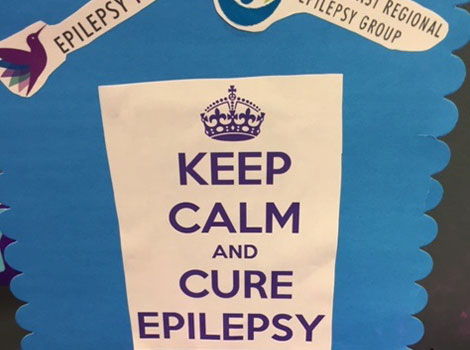 Keep calm and fight epilepsy