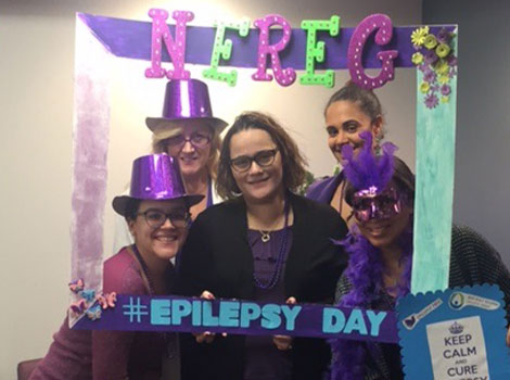 NEREG staff celebrate international epilepsy day
