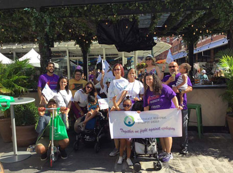 Team Northeast Regional Epilepsy Group in Manhattan,  NY