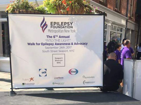Epilepsy walk 2017 New York,  NY