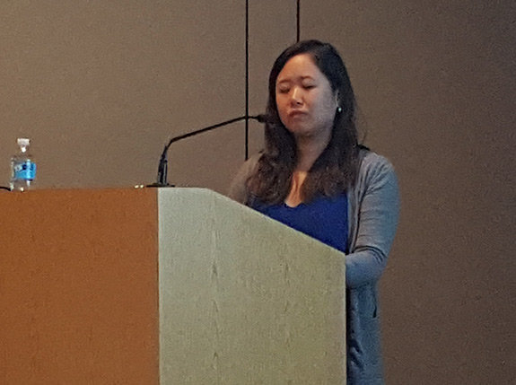 Dr. Ruifan Zeng spoke about caring for the caregiver