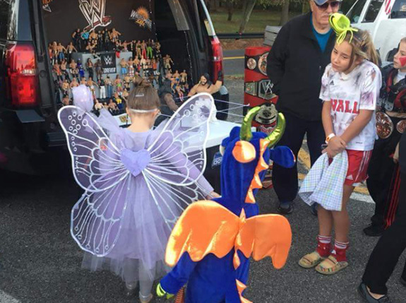 Costumes at the Epilepsy walk