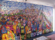 National Walk for Epilepsy Mural