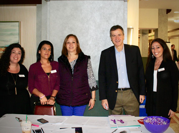 Dr. Marcelo Lancman and staff at the Annual Epilepsy Conference