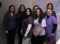 Northeast Regional Epilepsy Group staff at our Hackensack office raises epilepsy awareness
