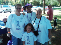 Team Northeast Regional Epilepsy-Mary, Danika, Fran and Michael.  Thanks, Guys!