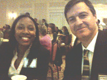 Drs. Berry and Lancman at the Epilepsy Foundation Anniversary dinner