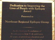 Dedication to Improving the Lives of People with Epilepsy Award