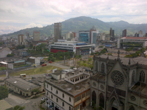 View of Pereira,Colombia where the Epilepsy conference took place