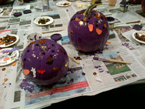 Epilepsy awareness through pumpkins