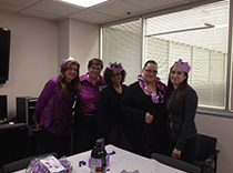 Staff raise Epilepsy and seizure awareness in Hackensack, NJ