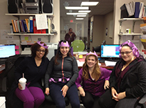 Our epilepsy center at Hackensack, NJ went all purple