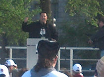 Greg Grunberg made the epilepsy walk in DC a lively event