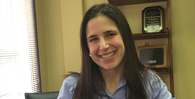 Epilepsy Star: Andrea Racioppi, Associate Director of the EFNJ