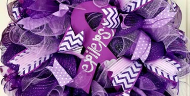 This issue's highlight product: Epilepsy Wreath